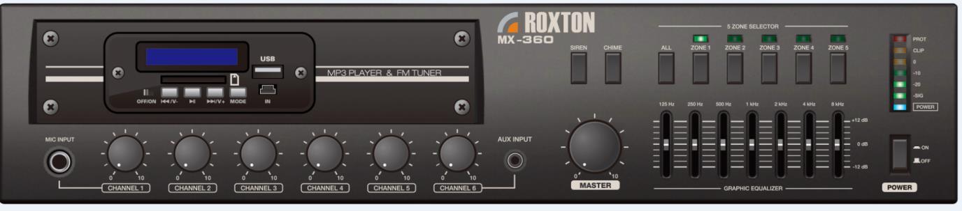 Roxton sx 480 принципиальная схема